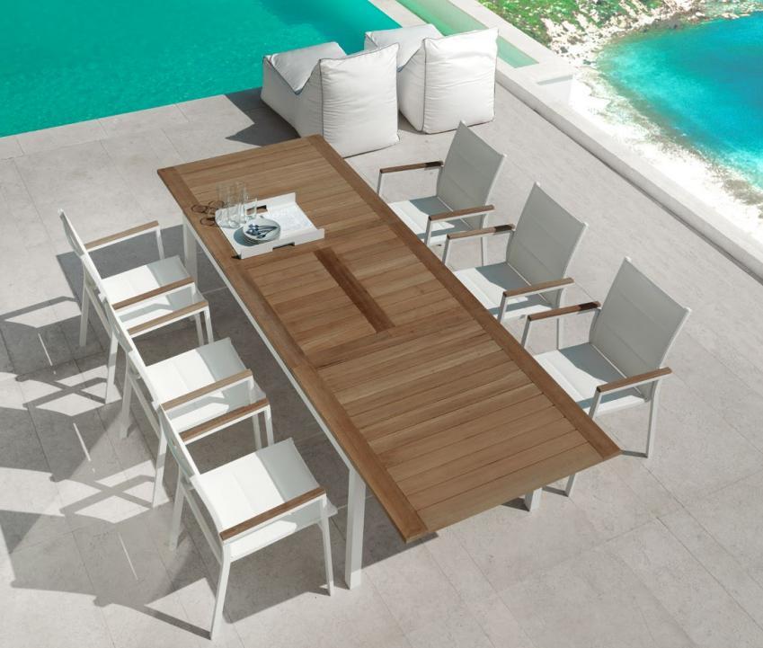 La tartaruga la tartaruga tavoli e sedie da esterno - Tavolo 12 posti dimensioni ...