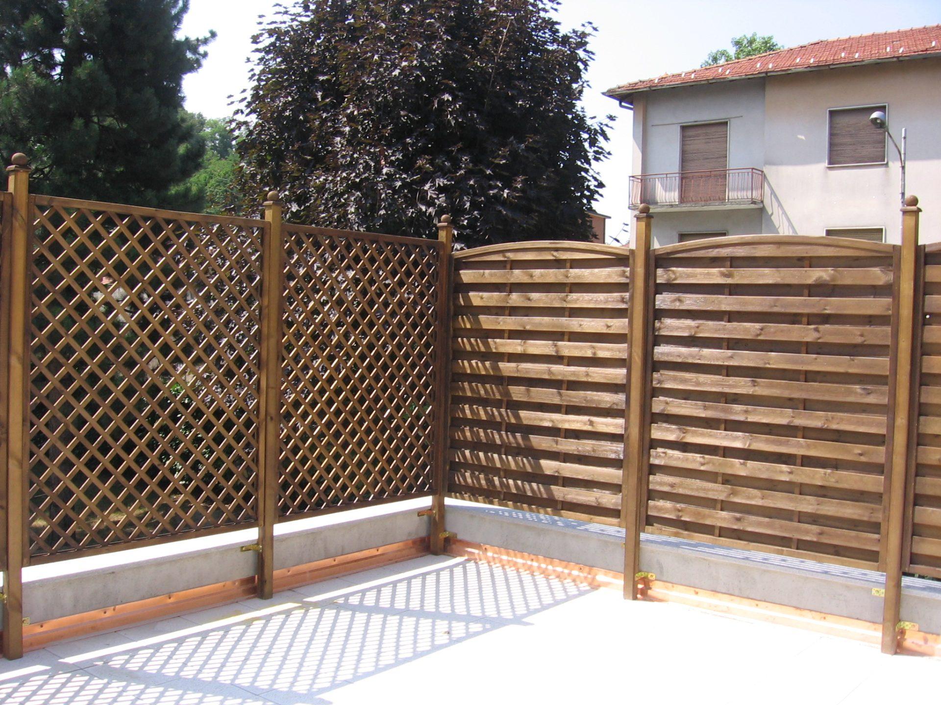 Fioriere grigliati su misura e lavori speciali in legno - Legno per terrazzo ...